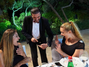 Magician Malta Closse Up Magic Wedding entertainment